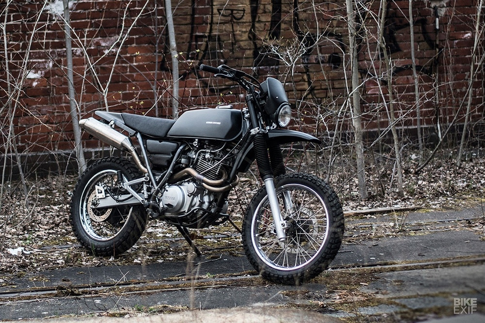 Berham Customs: кастом Yamaha XT600