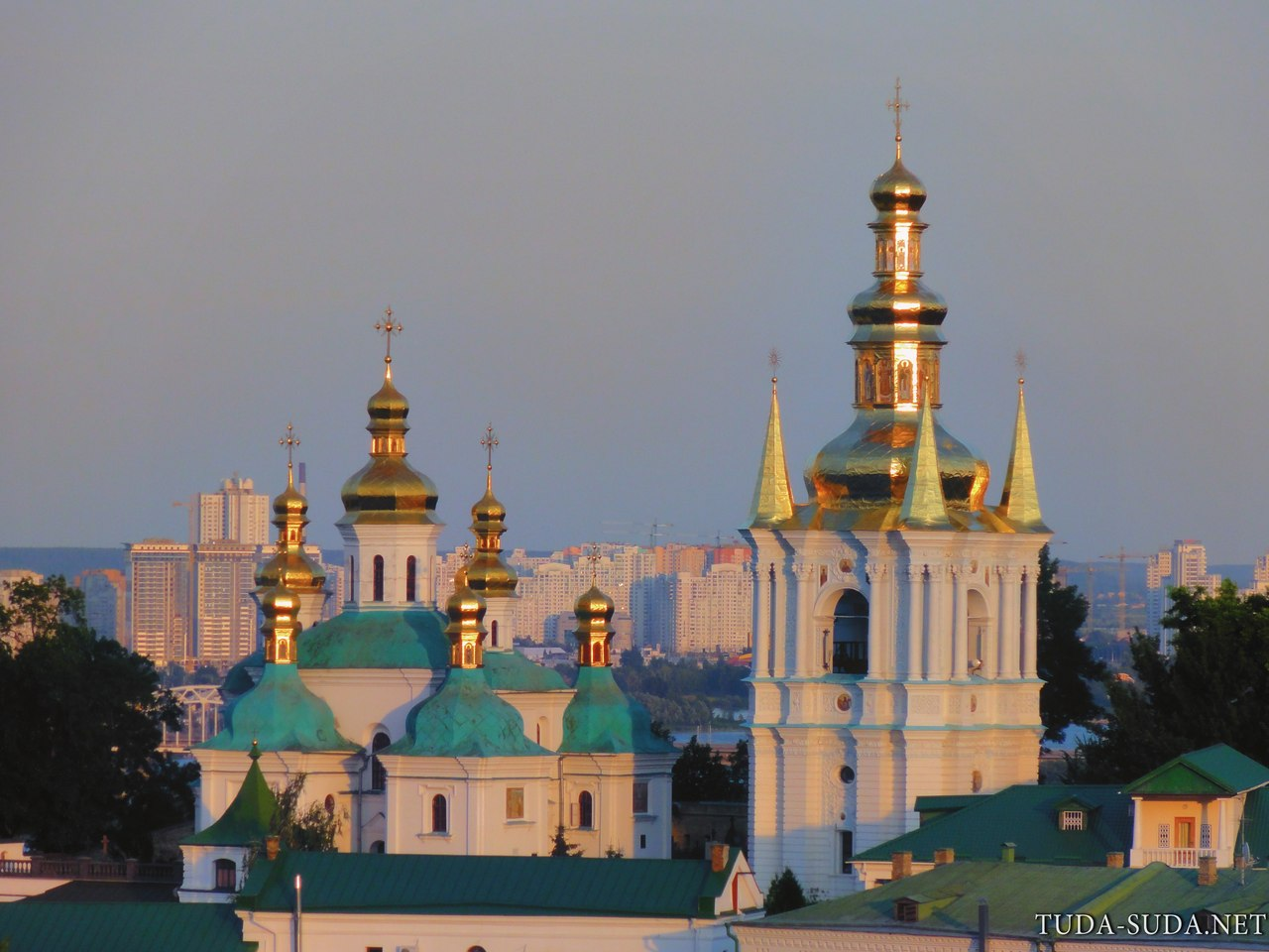 Киев панорама