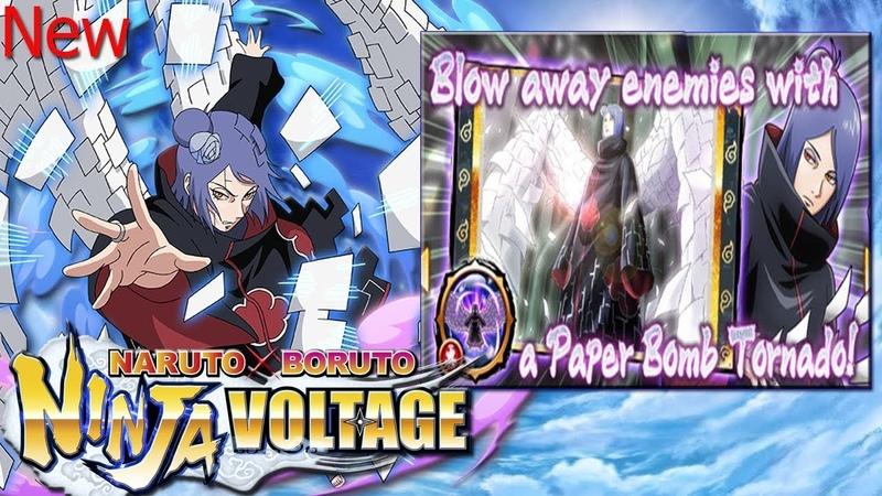 Konan And Shukaku | Summons Ticket | NARUTO X BORUTO Ninja Voltage| 37