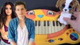 Charlie Puth ft Selena Gomez - We Don't Talk Anymore (Cat Piano, Dog, Drum Calculator Cover)