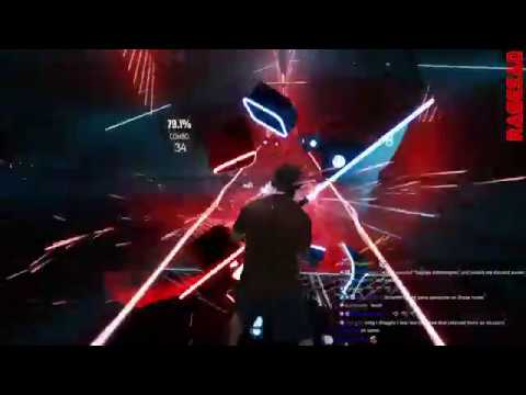 Beat Saber Reality Check through the Skull Maul style I find your lack of faith disturbing