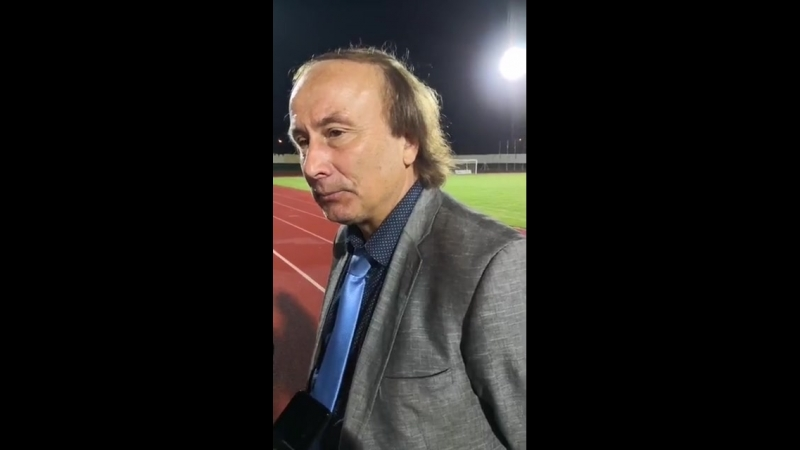 Главный тренер ФК Атлантас Анатолий Шелест Началась анархия