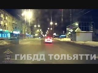Задержание угнанного автомобиля ВАЗ 2115