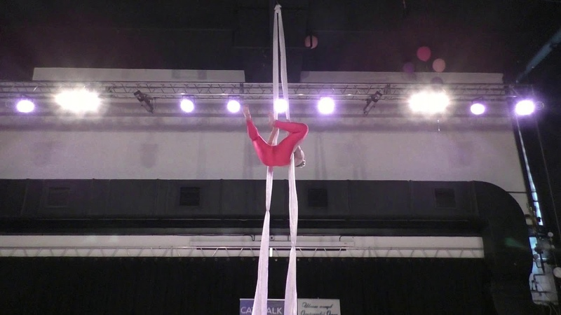 Дарья Прусакова Catwalk Dance Fest pole dance aerial 30 04 18