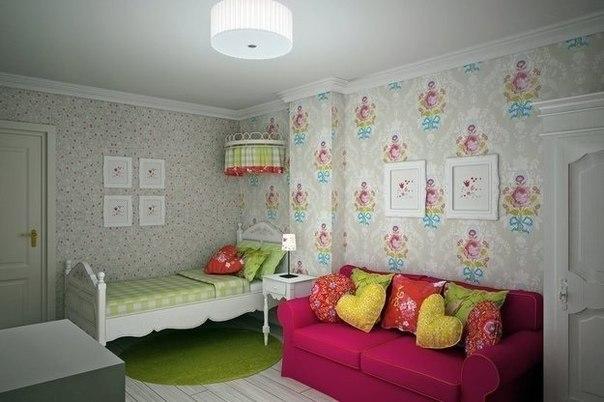 Французский стиль в комнате маленькой принцессы    ❤️