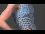 #12 Peekaboo Dress, Vogue Knitting Crochet 2013 Special Collector's Issue