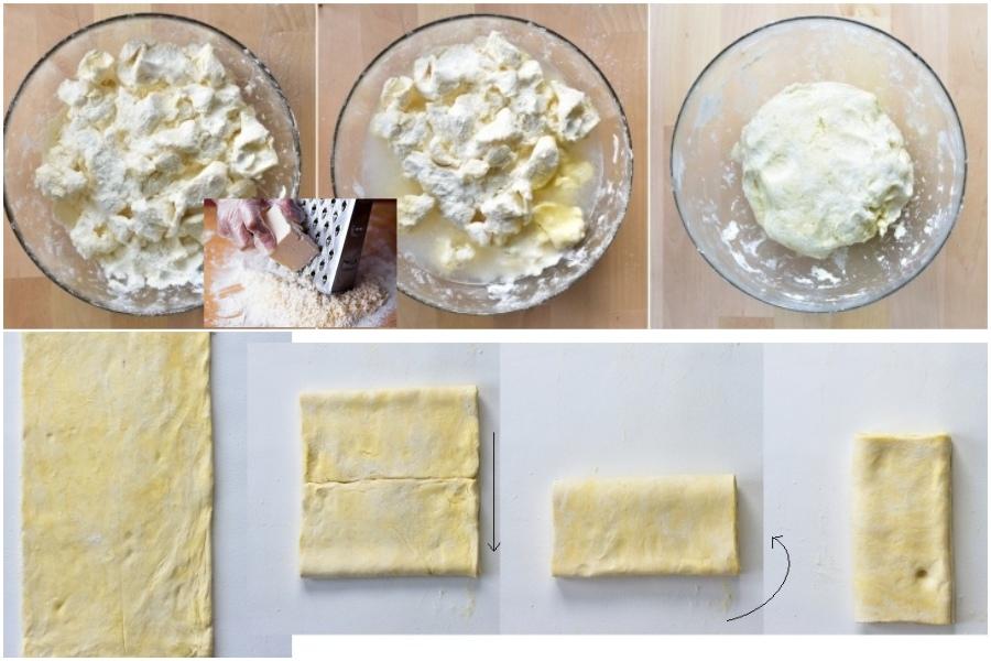 Слоеное тесто, простой рецепт