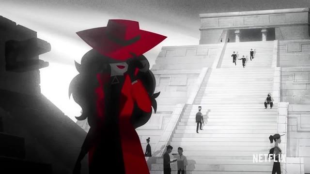 Carmen Sandiego | Official Trailer [HD] | Netflix | mission impossible | миссия невыполнима | кармен сандиего | мультфильм | cartoon 1
