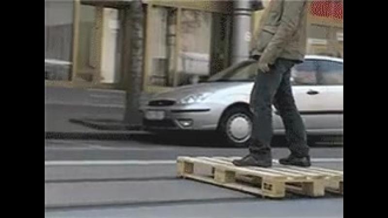 Когда трамваи плохо ходят))