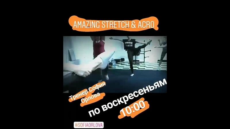 Amazing Stretch Acro