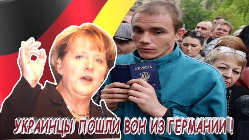 ПОШЛА ЖАРА-УКРАИНЦЫ ПОШЛИ ВОН ИЗ ГЕРМАНИИ ! Германия задумала ускорить высылку украинцев