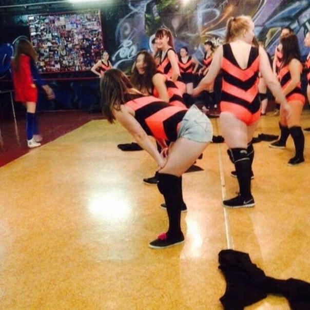 Эротический танец и секс одновременно