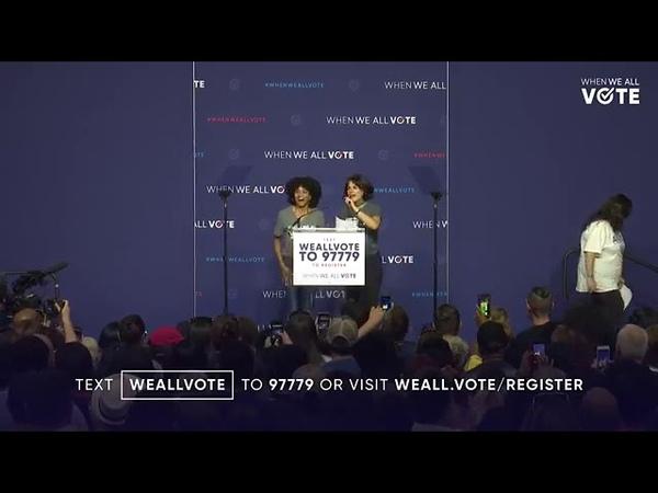 Lana Parrilla   When We All Vote Event in Las Vegas