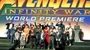 Premiere Mundial de Avengers Infinity War RedCarpet