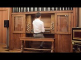 J. S. Bach - Trio-sonata No. 1, Es-dur (BWV525). The concert at Gnessin's Academy (Moscow).
