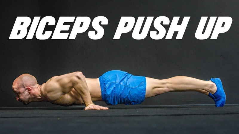 How to Train Your Biceps with Push Ups