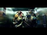 Черепашки-ниндзя читают рэп в лифте (Rap-info.Com)