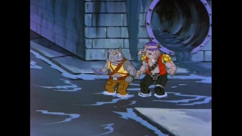 TMNT 1991 серия 3 Мой брат преступник