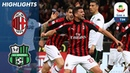 Milan 1 0 Sassuolo Consigli Sent Off As Milan Beat 10 Man Sassuolo Serie A