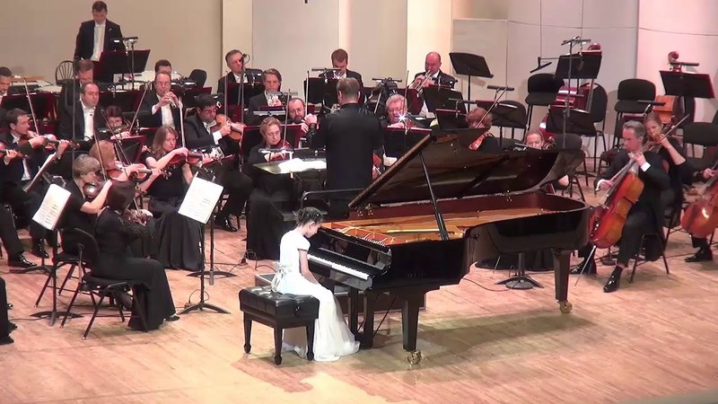 04.05.2018 Alexandra Dovgan' Final of II-nd Grand Piano Competition for Young Pianists