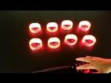 Remote contorl LED bracelet пульт дистанционного управления светодиодный браслет