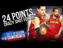 Jordan Clarkson JR Smith 24 Pts ECR1 Game 4 Cavaliers vs Pacers - CRAZY Shot By JR! | FreeDawkins