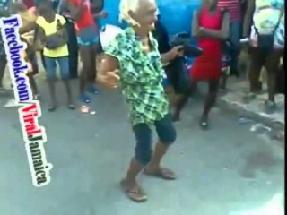 Funny Video Of Jamaican Old Woman Doing QQ''s One Drop