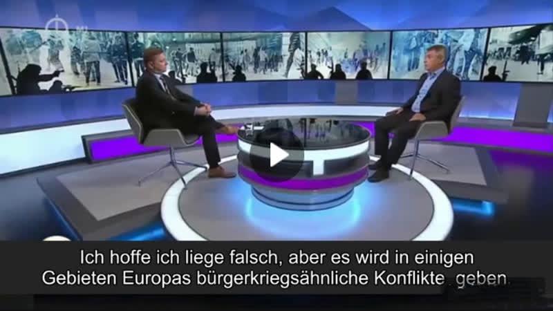Ungarischer Ex Geheimdienstler Tausende Flüchtlinge bereiten Bürgerkrieg in Deutschland vor!