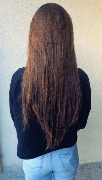 Фото девушки на аву с темными волосами со спины на аву