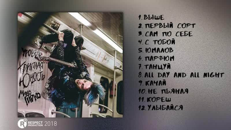 Respectproduct • Макс Гирко - Уровень: Хриплая юность (full album / весь альбом) 2018