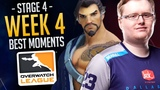 Best Of Overwatch League Week 4 [Stage 4] (Funny & Epic Moments)