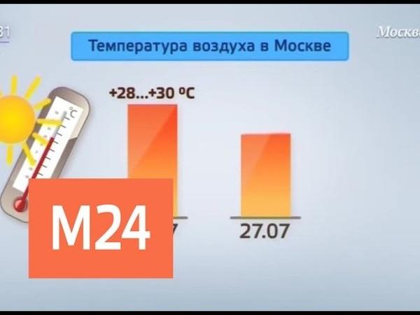 Синоптики предупредили о катастрофической жаре в Москве - Москва 24
