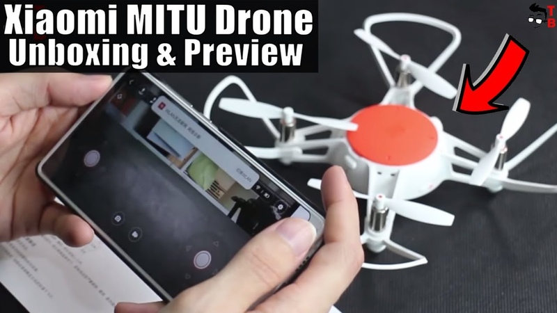 Xiaomi MITU Drone - Is It Better Than DJI Tello? Unboxing Hands-on Preview