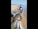 Испания. Галоп на пляже.