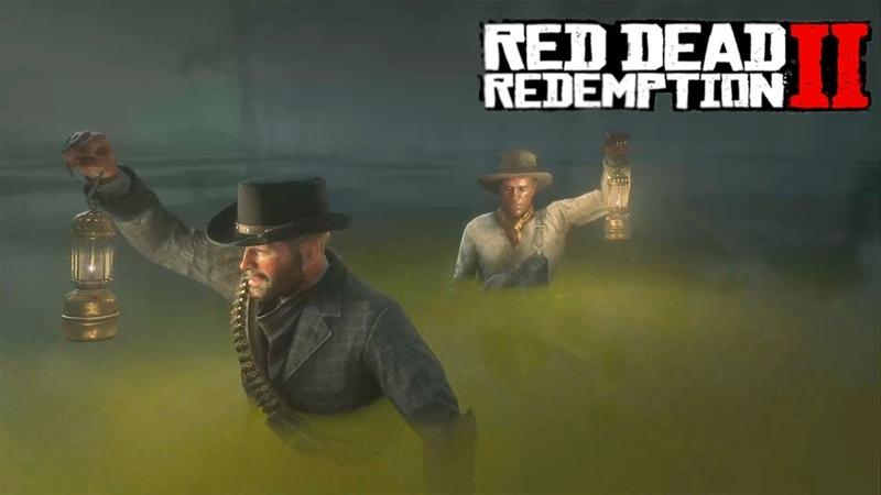 Как Датч Алигаторов Кормил Red Dead Redemption 2 Прохождение 28