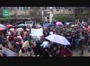 Сирия жители Хасаки устроили народный марш против турецкой агрессии