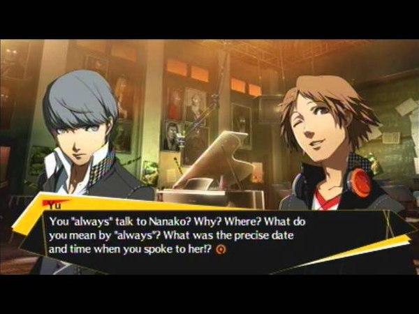 Persona 4 Arena: Cutscene: Sister Complex Kingpin Yu