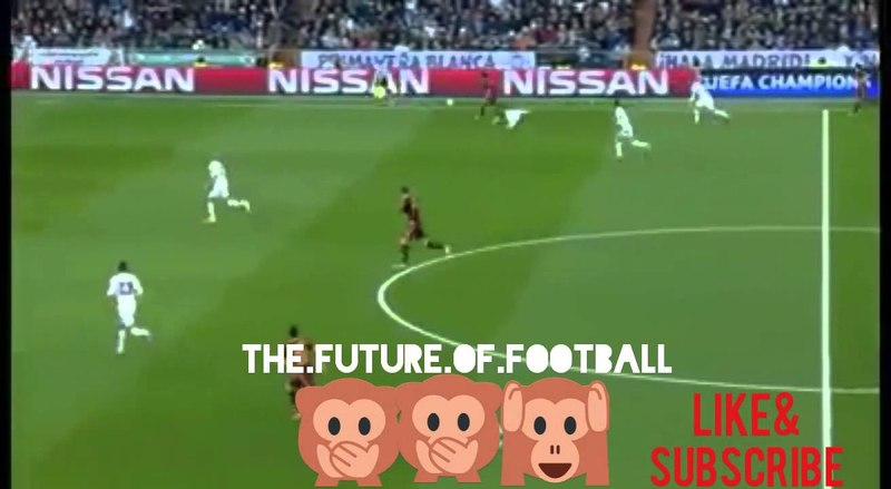 Mohamed Salah humiliating Sergio Ramos Luka Modric Champions league 2016 (Real Madrid vs As Roma)