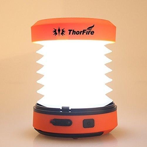 Водонепроницаемый складной фонарик со встроенной солнечной панелью от которой можно заряжать телефон