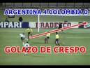 BAILE!! ARGENTINA 4 COLOMBIA 0