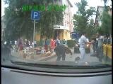 Битва на дороге. Усть-Каменогорск  на ул. Казахстан
