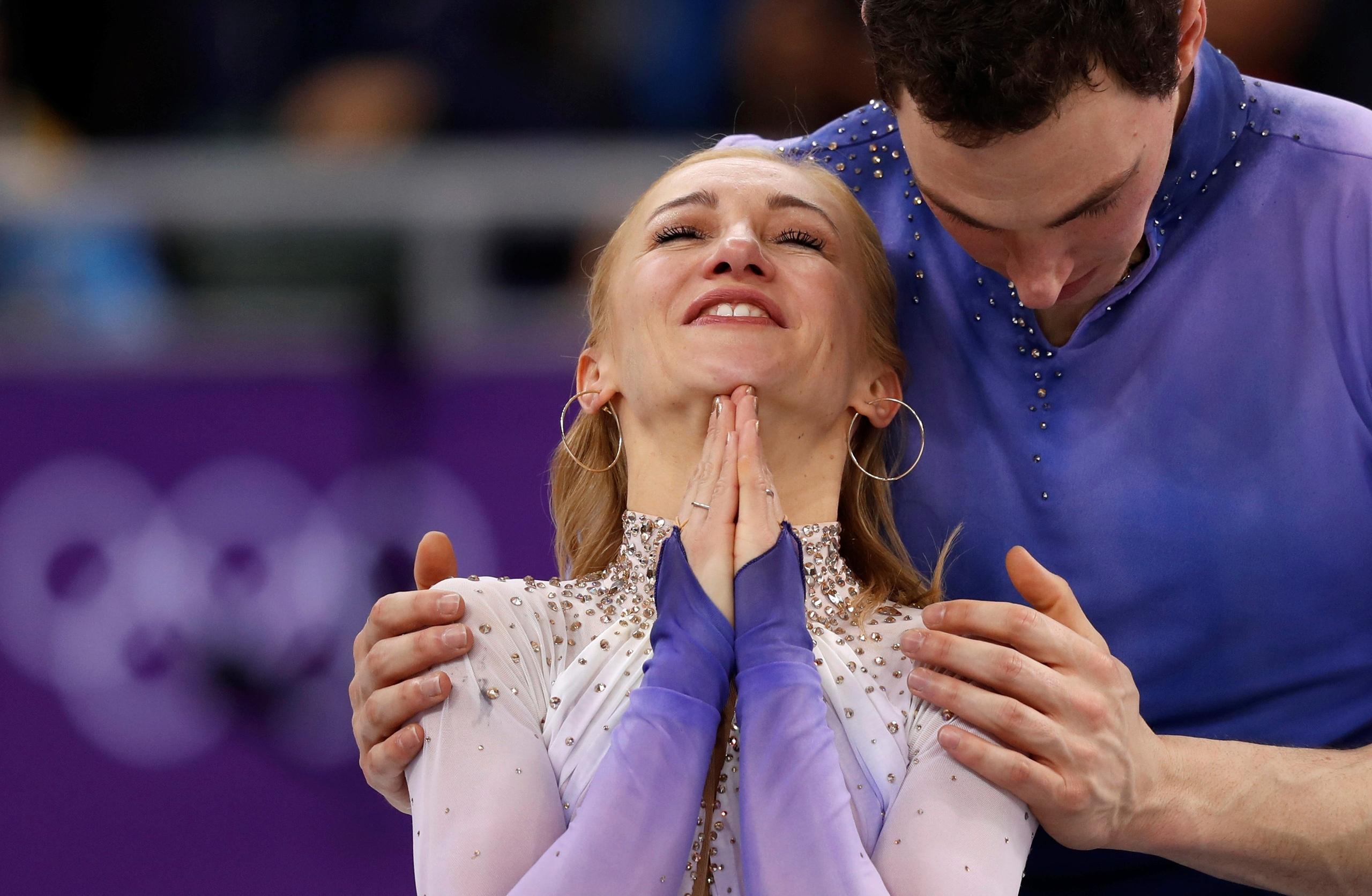 Алена Савченко - Бруно Массо / Aliona SAVCHENKO - Bruno MASSOT GER - Страница 25 W16TA5F2fGI