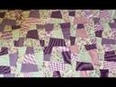 Запланированное безумие: лоскутное одеяло в технике Крейзи. Фиалковый сад. DIY