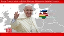 Pope Francis - Riga – Welcome Ceremony 24092018