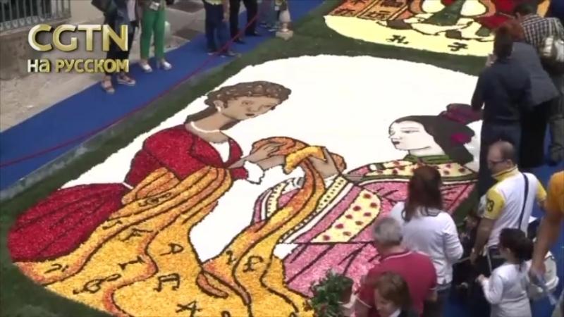 В сицилийском городке Ното проходит традиционный фестиваль цветов