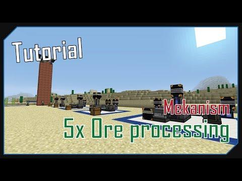 [TUTORIAL]MEKANISM - 1x to 5x ORE PROCESSING