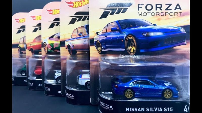 Lamley Preview Hot Wheels Nissan Silvia S15 2018 Entertainment Forza Motorsport Set