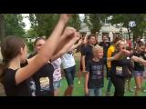 В Джанкойской школе-интернате появилась спортивная и волейбольная площадки