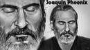 Хоакин Феникс (Joaquin Phoenix) portrait timelapse