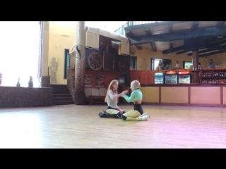 Тоня Голосеева и Ксения Шумская 3 место, Хореограф: Тоня Голосеева